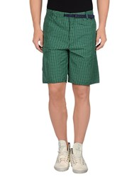 Mauro Grifoni Trousers Bermuda Shorts Men Brick Red