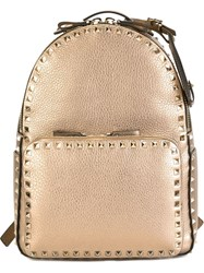 Valentino Garavani 'Rockstud' Backpack Metallic