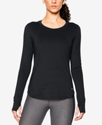 Under Armour Fly By Long Sleeve Running Top Black