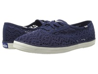 Keds Champion Crochet Navy Women's Lace Up Casual Shoes