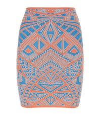 Bcbgmaxazria Pavel Graphic Bodycon Skirt Female Multi