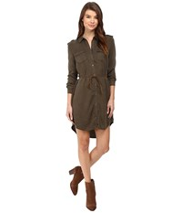 Only Arizona Lyocell Belt Dress Tarmac Women's Dress Olive