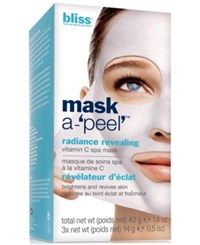 Bliss Mask A 'Peel' Radiance Revealing Rubberizing Mask 1.4 Oz