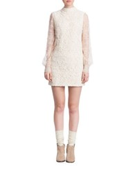 Plenty By Tracy Reese Lace Shift Dress Natural