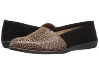 Aerosoles Trend Setter Leopard Combo Women's Flat Shoes Animal Print