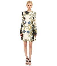 Just Cavalli S04ct0173 N36363 900S St. Paisley Crown Women's Dress White