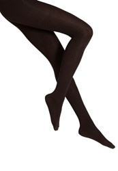S.Oliver Tights Dark Brown