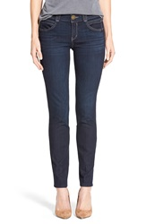 'Ab Solution And Booty Lift' Stretch Skinny Jeans Nordstrom Exclusive Blue