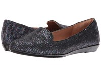 Sofft Belden Metallic Multi Black Multi Glitter Patent Women's Flat Shoes