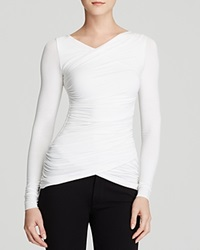 Dylan Gray Ruched Wrap Tee