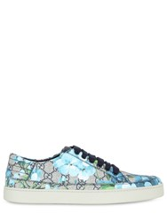 Gucci Floral Printed Gg Supreme Sneakers