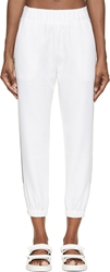 Mother Of Pearl White Waffle Knit Reece Trousers