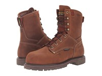 Carolina 8 Waterproof 800G Insulated Composite Toe Grizzly Boot Kharthoum Cigar Men's Work Boots Brown