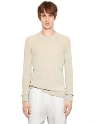 08 Sircus Cotton And Cashmere Open Weave Sweater
