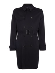 Howick Dale Classic Trench Coat Navy