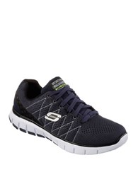 Skechers Sketch Flex Relaxed Fit Sneakers Navy
