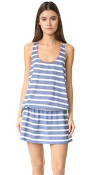 Splendid Chambray Cottage Tank Dress Blue