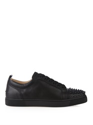 Christian Louboutin Louis Junior Spikes Leather Low Top Trainers