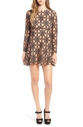 For Love And Lemons Women's Metz Party Dress Pecan