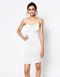 Ganni Monmartre Slip Dress Vanilla Ice White