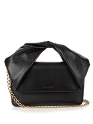 J.W.Anderson Twist Leather Clutch