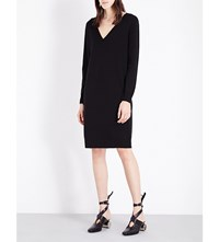 Proenza Schouler Button Back Knitted Dress Black