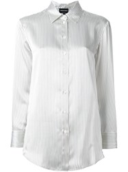 Giorgio Armani Classic Button Down Shirt Nude And Neutrals