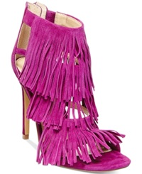 Steve Madden Women's Fringly Dress Sandals Women's Shoes Purple