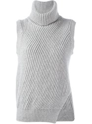 Lareida 'Ala' Knit Tank Top Grey