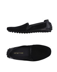 Sergio Rossi Footwear Moccasins Men Black