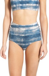 Women's Billabong 'Waves For Daze' High Waist Bikini Bottoms