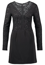 Guess Tracey Cocktail Dress Party Dress Jet Black White