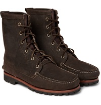 Quoddy Grizzly Chamois Nubuck Boots