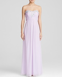 Decode 1.8 Gown Strapless Embellished Bodice