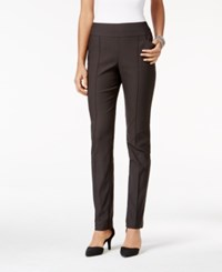 Styleandco. Style Co. Pull On Seamfront Skinny Pants Only At Macy's Carbon Grey