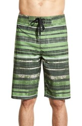 Men's Prana 'Sediment' Stretch Board Shorts Soap Sour