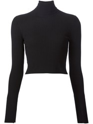 A.L.C. Cropped Jumper Black