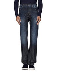Boss Black Denim Denim Trousers Men Blue