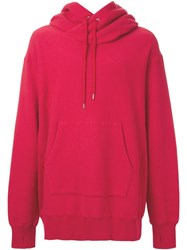 Cityshop 'In The City' Hoodie Red