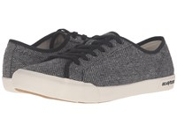 Seavees 06 67 Monterey Tweed Black White Women's Shoes