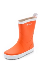 Tretorn Wings Rain Boots Orange