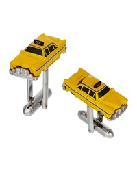 Jan Leslie Taxi Cab Cuff Links Yellow