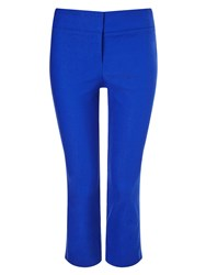 Phase Eight Betty Crop Trousers Blue