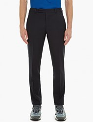 Paul Smith Navy Slim Fit Wool Trousers