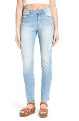 Women's Cheap Monday 'Donna' Distressed High Rise Jeans