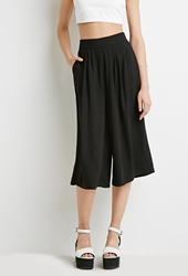 Knife Pleated Culottes Shop All 2002246943 Forever 21 Eu
