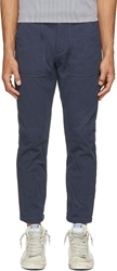 Nanamica Navy Windstopper Trousers