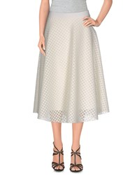 Roberto Collina Skirts 3 4 Length Skirts Women Blue