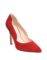 William Rast Sugar Suede Pumps Red