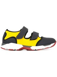 Marni Velcro Strap Sneakers Yellow Orange